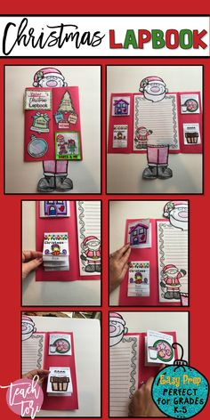 This Christmas Lapbook is the perfect activity and keepsake for your students this Christmas! They will love making it and their parents are sure going to love seeing what gifts their kids want this Christmas! #tpt #teacherspayteachers #iteachtoo #teachersfollowteachers #learning #education #christmas #homeschool