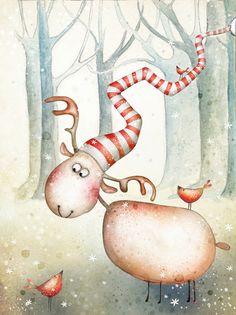 Winter forest by Agnieszka Szuba