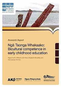 This project examined how bicultural competence is applied in the education of early childhood teachers with regards to Māori pedagogies, identities, languages and cultural beliefs, and how Māori pedagogies are valued in the provision of early childhood education in Aotearoa. A Kaupapa Māori methodology was adopted, drawing upon qualitative techniques.