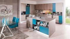 Elegantní laminátová kuchyně, MDF deska + fólie v různých dekorech