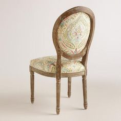 Ogee Paisley Paige Round Back Dining Chairs, Set of 2 | World Market