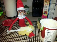 Elf likes cookies.. And icing!