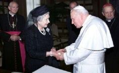 The State Visit to Italy in 2000 was The Queen's fourth visit to that country, the first being in 1951, before her Accession. While in Rome, The Queen and The Duke of Edinburgh were granted an audience with Pope John Paul II in the Vatican