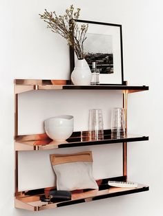 The Design Chaser: Metal Shelving   New Finds