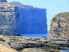 Fungus Rock, Island of Gozo, Malta