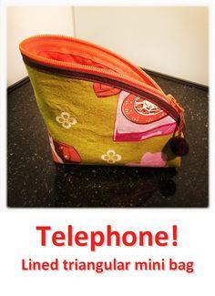 Telephone! Telephone, Mini Bag, Lunch Box, Bags, Collection, Handbags, Phone, Bento Box, Small Bags