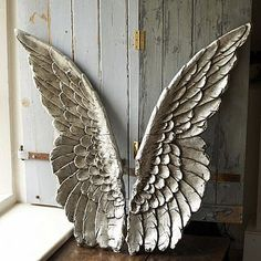 Wall Decor 20 Ideas You Can Applied About Wooden Angel Wings Wall for measurements 1132 X 1600 Wood Angel Wings Wall Decor - Where there was a wall as blan Vintage Illustration, Angel Wings Wall Decor, Angel Decor, Wooden Angel Wings, Wing Wall, Angeles, Angel Art, Angel Wings Art, Architectural Salvage