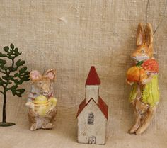 Tea after church by Julie Whitmore Pottery, via Flickr
