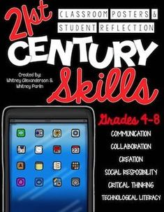 21st Century Skills: Classroom Posters & Student Reflection for the classroom teacher!