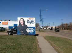 With the upcoming election, several candidates are choosing to use Mobile AdVans to reach candidates throughout their ridings #mobilebillboard #alternativeadvertising #outofhomemarketing #outdooradvertising