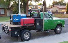 Dodge Trucks, Tow Truck, Flatbed Truck Beds, Mobile Welding, Welding Beds, Welding Trucks, Heavy Construction Equipment, Welding And Fabrication, Logging Equipment
