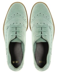 Minty-Fresh Oxfords
