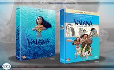 Concept de collection Blu Ray prestige Disney avec fourreau et Digibook : Vaiana, la légende du bout du monde (Moana) Disney Blu Ray, Animation Disney, The Prestige, The Originals, Collection, Film, Cover, Books, Livros