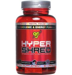 BSN Hyper Shred – Weight loss and fat loss supplements: My Health News