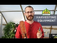 Greenhouse Harvesting Equipment - YouTube