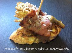 Alcachofa con bacon