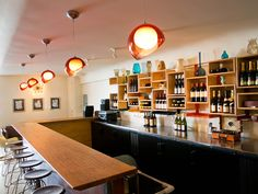 20spot wine bar in former record shop