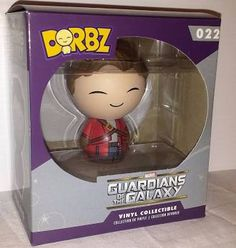 Dorbz Unmasked Starlord Funko Marvel Guardians Of The Galaxy Figure