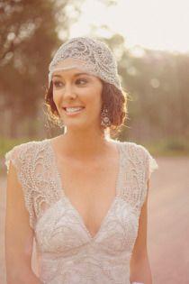 love the head scarf! Via Style me Pretty Australia