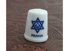 Náprstek z porcelánu - Židovská obec v Praze