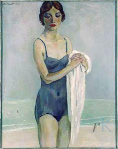 Bather 1935 by Jan Sluijters (Dutch, 1881-1957)