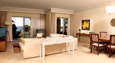 Living Room in the Villa.