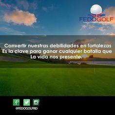 Feliz Miércoles Recuerda siempre luchar por aquello que te apasiona. #fedogolfRd #golf #miercoles #feliz #swing #putter #hoyo #field