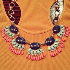 statement necklace  www.thetrunkonline.com