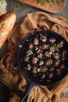 Roasted Mushrooms #holidayentertaining #thanksgiving #givingthanks #november #holidays #thanksgivingideas #thanksgivingcrafts #thankful #thanks #thanksgivingrecipes www.gmichaelsalon... #diy #crafting #recipes #forthehome #holidaydecorating #holidaydecor #harvest #autumn