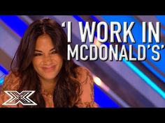 McDonald's worker, Rebecca Grace, took the judges' breath away with her beautiful rendition of Kelly Clarkson's 'Piece by Piece'. Is this your favourite cove. Kelly Clarkson, Paul Potts, Ethiopian Music, Music Covers, Judges, America's Got Talent, Factors, Rock And Roll, Music Videos