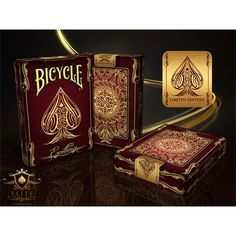 Bicycle Excellence Deck by US Playing Card Co. Joker Playing Card, Playing Card Box, Bicycle Cards, Bicycle Playing Cards, Card Companies, Card Tricks, Magic Book, I Card, Pure Products
