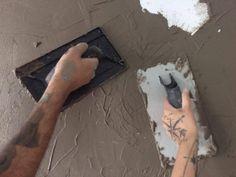 DIY - Parede de cimento queimado sem segredos? É aqui mesmo que você vai aprender!