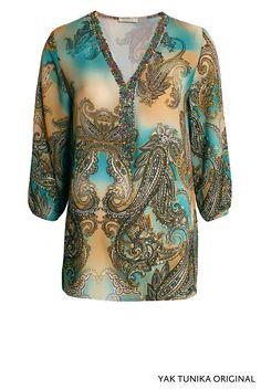 Yak Tunika Original von KD Klaus Dilkrath #kdklausdilkrath #kd12 #kd #yak #tunika #original #blouse #paisley #shirt #spring #pearls #boho #outfit #kdklausdilkrath #kd #dilkrath #kd12 #outfit