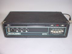 Vintage Acoustic 370 Bass Amp Head