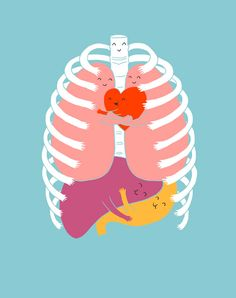 """Hugs Keep Us Alive"" by Lim Heng Swee."