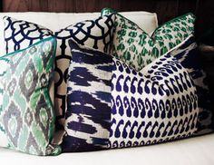 I pinned this from the La Vie Boheme - Eclectic Rugs, Colorful Pillows, Plush Cubes & More event at Joss and Main!