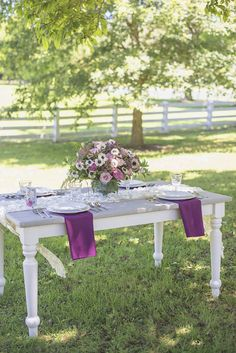 Elegant Southern Style Mansion Wedding | Gray and Lavender | Gray reception…