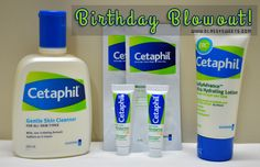 Birthday Blowout Giveaway | Get a chance to WIN a CETAPHIL BEAUTY SET from Classy Sweets! Enter here: www.classysweets.com/birthday-blowout-giveaway Cetaphil, Me Clean, Giveaways, Cleanser, Lotion, Classy, Sweets, Personal Care, Birthday