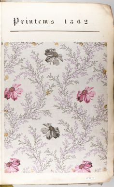 textile sample book 1862