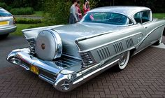 1958 Buick Limited 2-Door Hardtop  ...still space for a bit more chrome?