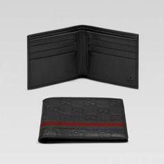 gucci 138086 a0vbr 2061 bi fold geldb rse mit unterschrift web gucci herren portemonnaie. Black Bedroom Furniture Sets. Home Design Ideas