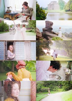 When Lizzy first started to fall in love with Mr. Darcy. (Seeing his grounds at Pemberly)