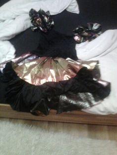 Karnevalové šaty.
