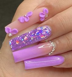 Burgundy Acrylic Nails, Acrylic Nails Coffin Pink, Long Square Acrylic Nails, Coffin Shape Nails, Purple Nails, Edgy Nails, Swag Nails, Cute Acrylic Nail Designs, Exotic Nails