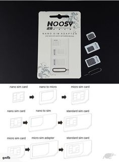 Lot of 10 x Noosy Nano SIM Adapter Four In One For i Phone 4 5 Galaxy 3 4 in 1 From Nano to Micro Sim adapter adaptor Package of each 1 x . Phone 4, Galaxy S2, Contents, Sims, Cards Against Humanity, Mantle, The Sims