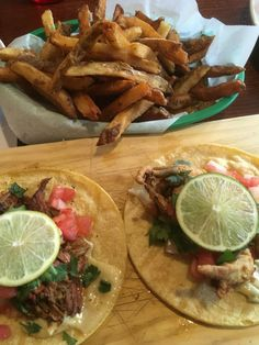 Hammerheads - Louisville, KY - Duck Tacos, Softshell Crab Tacos, Duck Fat Garlic & Herb Fries