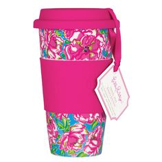 Lilly Pulitzer Travel Mug (Lucky Charms Blue)