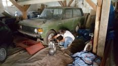 der Garagenschüffler on Tour - Range Rover Garage, Retro Cars, Range Rover, Cars Motorcycles, Retro Vintage, History, Vehicles, Carport Garage, Garages