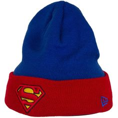 New Era Character Contrast Cuff Beanie Superman ★★★★★