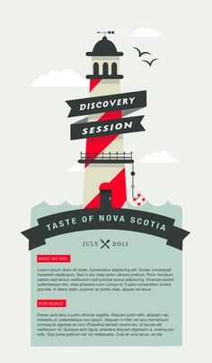 Taste of Nova Scotia  Brainstorm by Sabrina Smelko, via Behance
